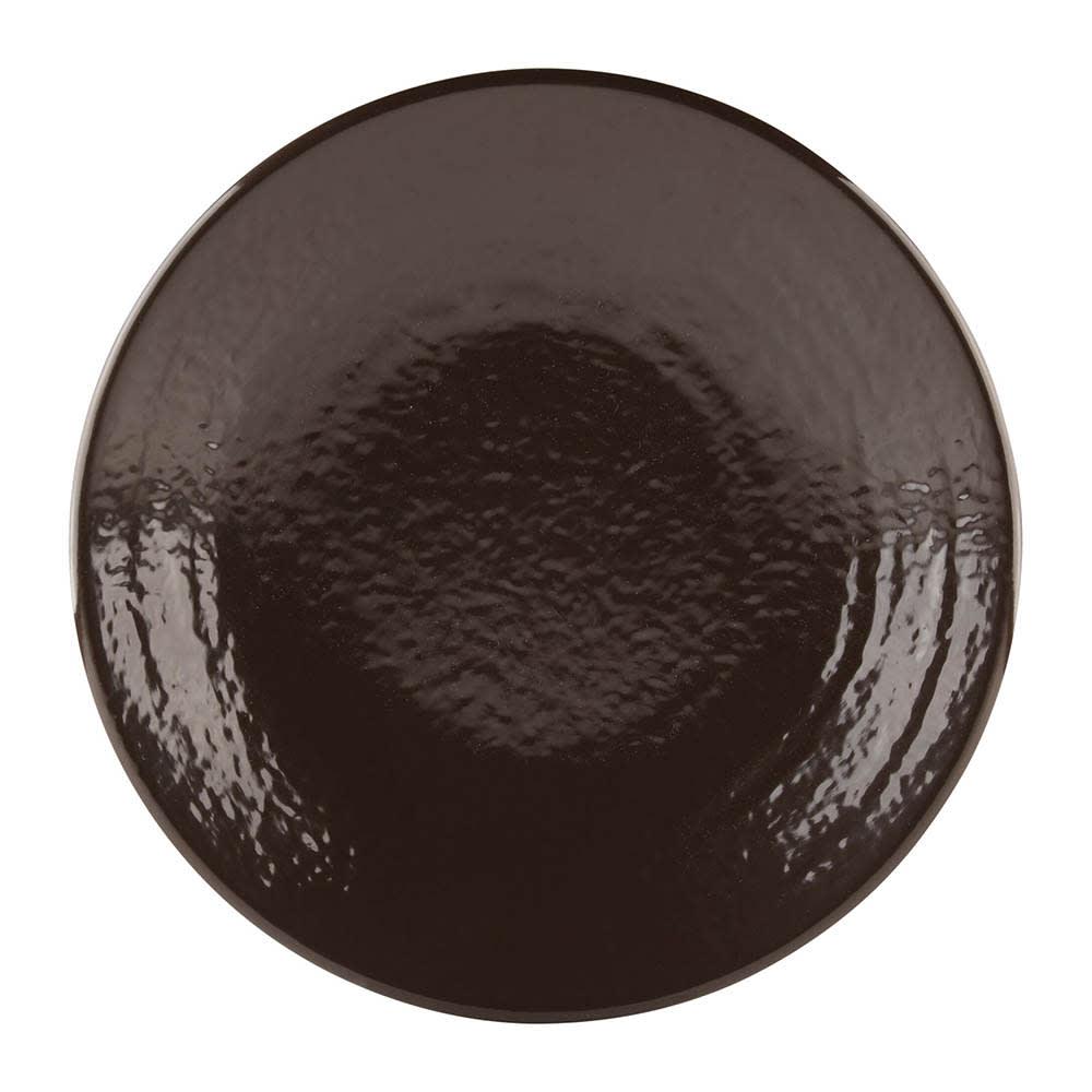 "Elite Global Solutions D9RR 9"" Round Pebble Creek Plate - Melamine, Aubergine"