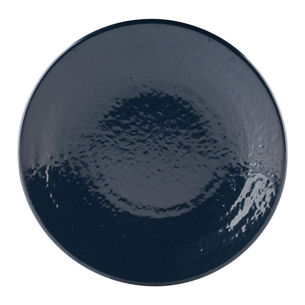 "Elite Global Solutions D9RR 9"" Round Pebble Creek Plate - Melamine, Lapis"