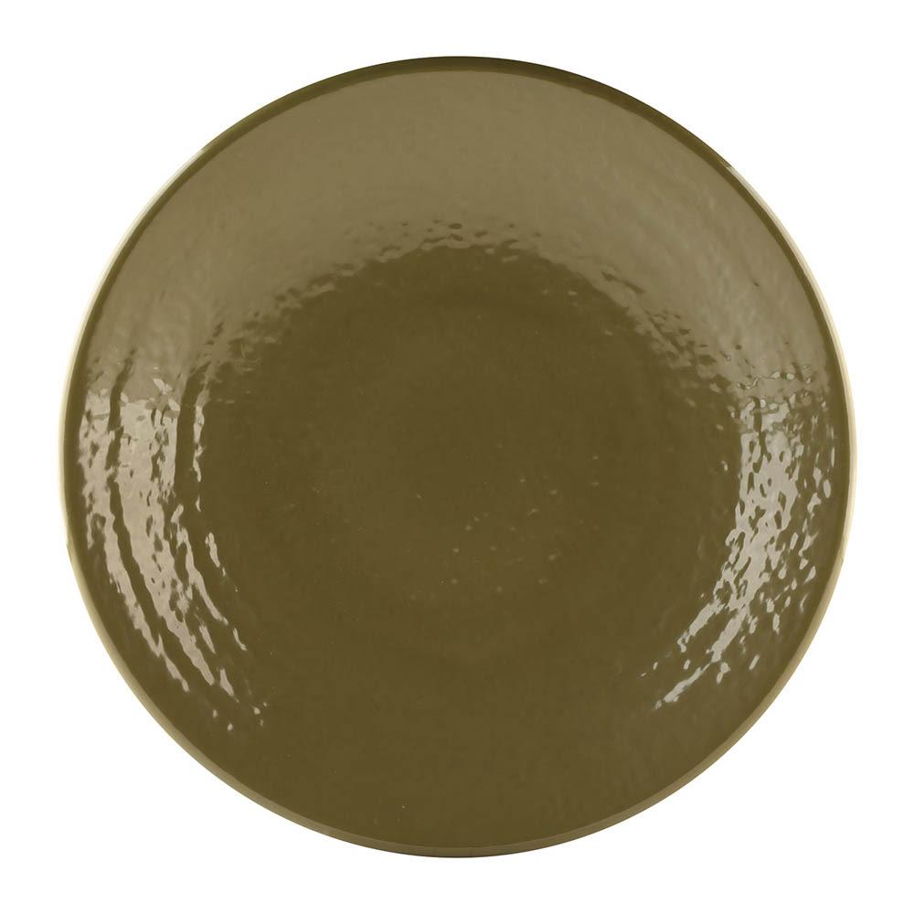 "Elite Global Solutions D9RR 9"" Round Pebble Creek Plate - Melamine, Lizard"