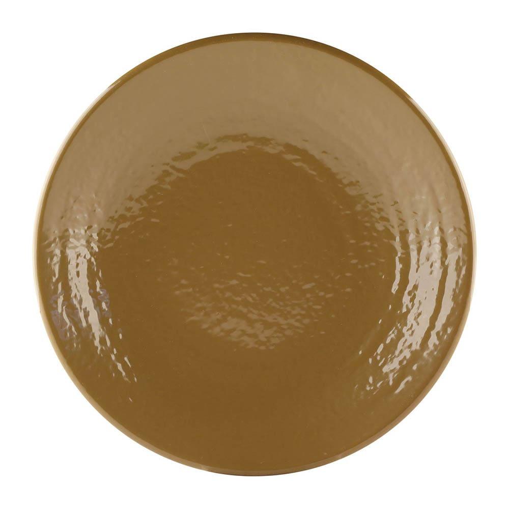 "Elite Global Solutions D9RR 9"" Round Pebble Creek Plate - Melamine, Tapenade"