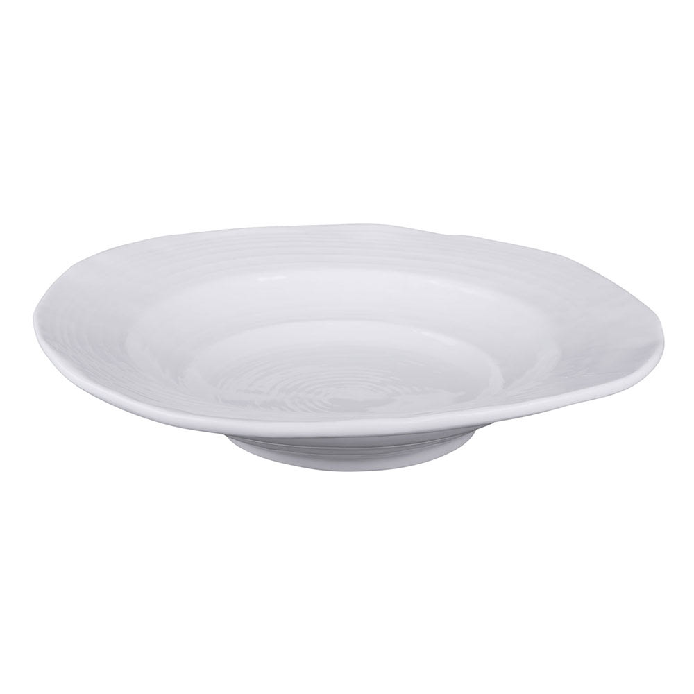 Elite Global Solutions DB11-W 22 oz Della Terra Bowl - Melamine, White