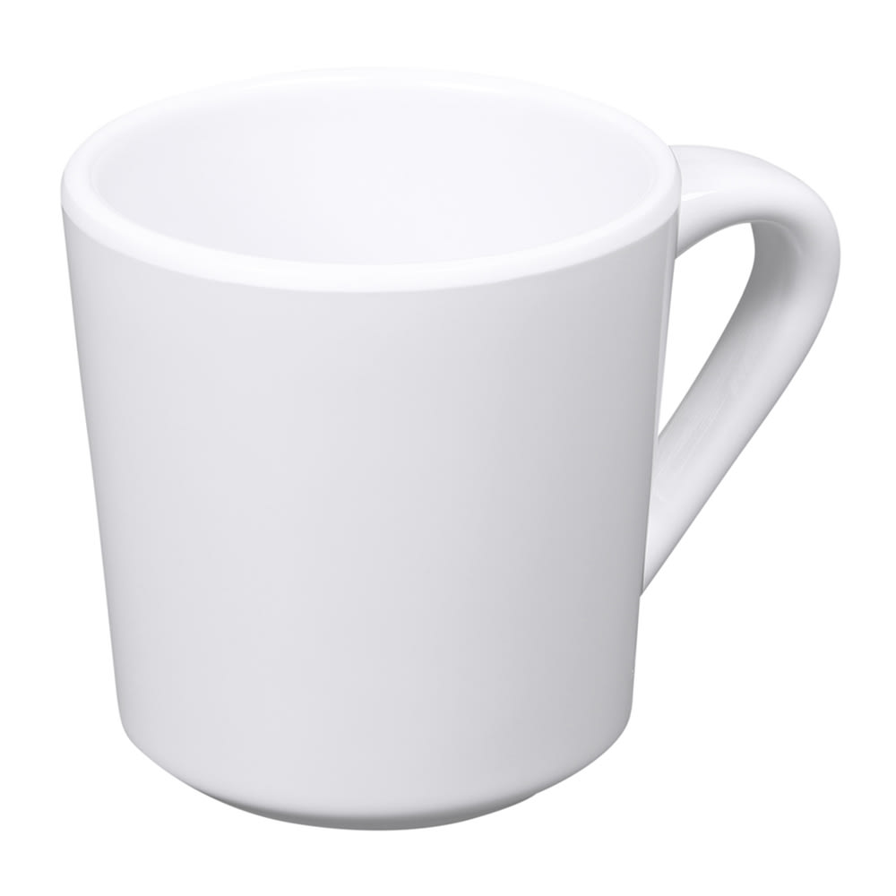 Elite Global Solutions DC14-W 14-oz Merced Mug - Melamine, White