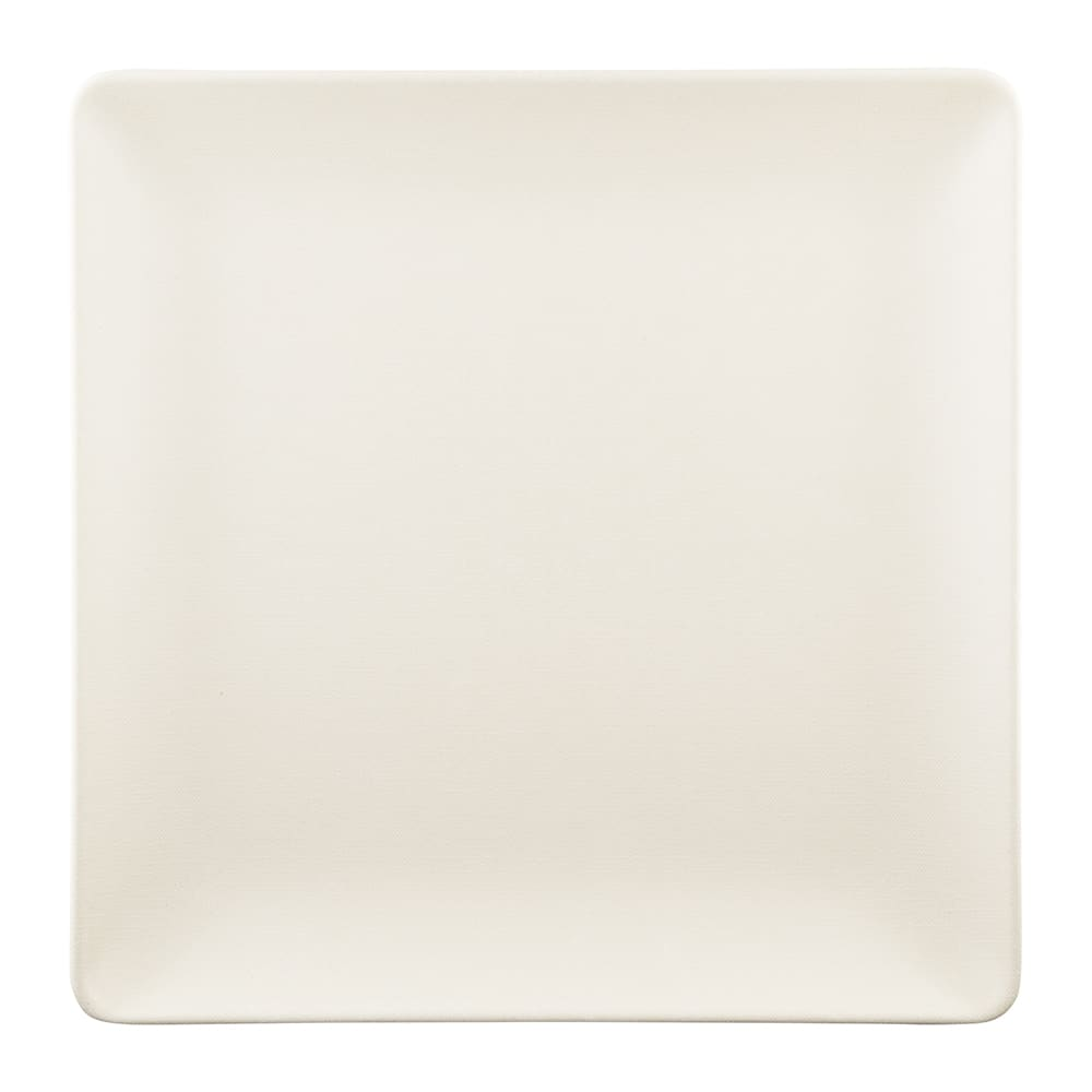 """Elite Global Solutions ECO1010SQ 10"""" Square Greenovations Plate - Melamine/Bamboo, Papyrus"""