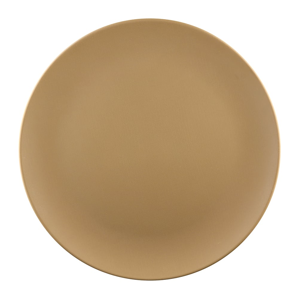 """Elite Global Solutions ECO1111R 11"""" Round Greenovations Plate - Melamine/Bamboo, Paper Bag"""