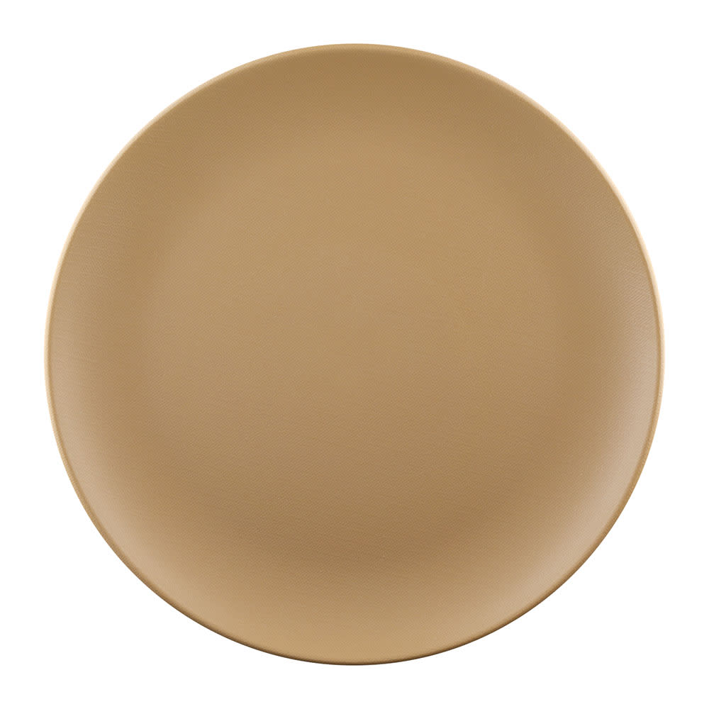 """Elite Global Solutions ECO99R 9"""" Round Greenovations Plate - Melamine/Bamboo, Paper Bag"""