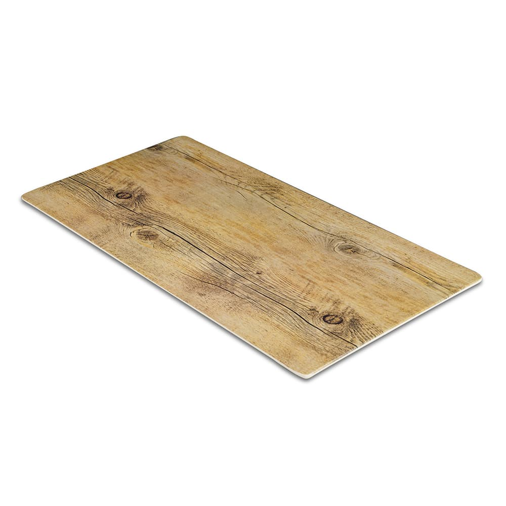 "Elite Global Solutions M1020-DW Rectangular Fo Bwa Meta Riser - 20"" x 10"", Melamine, Faux Driftwood"