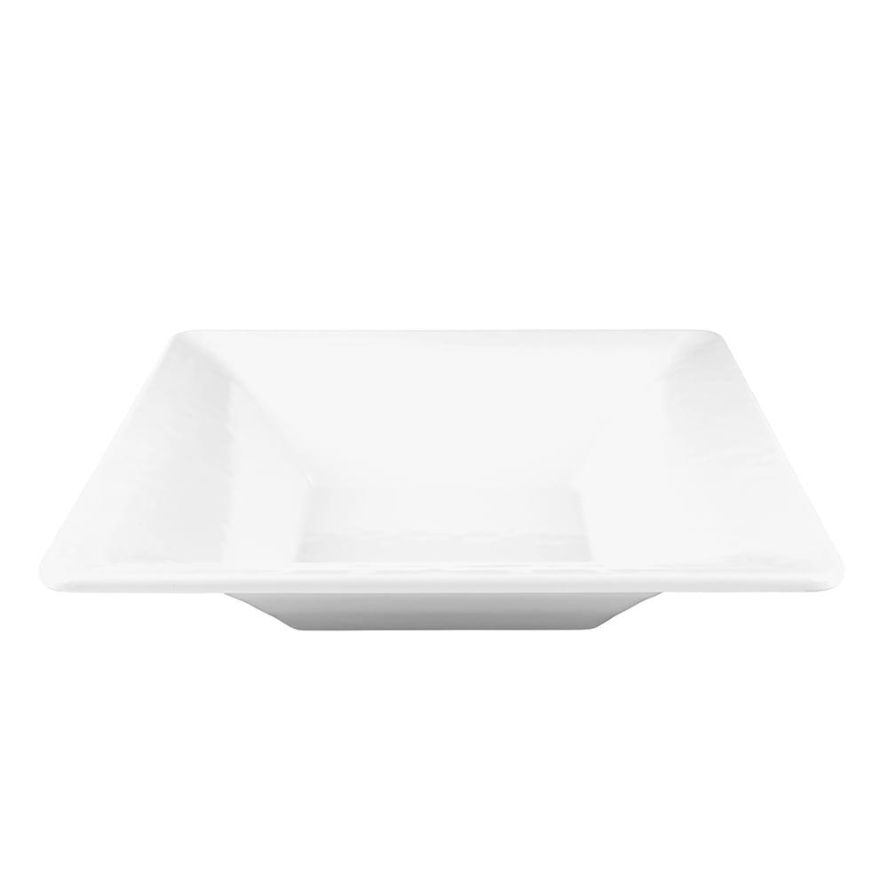 Elite Global Solutions M1353RR-W 3-qt Pebble Creek Bowl - Melamine, White