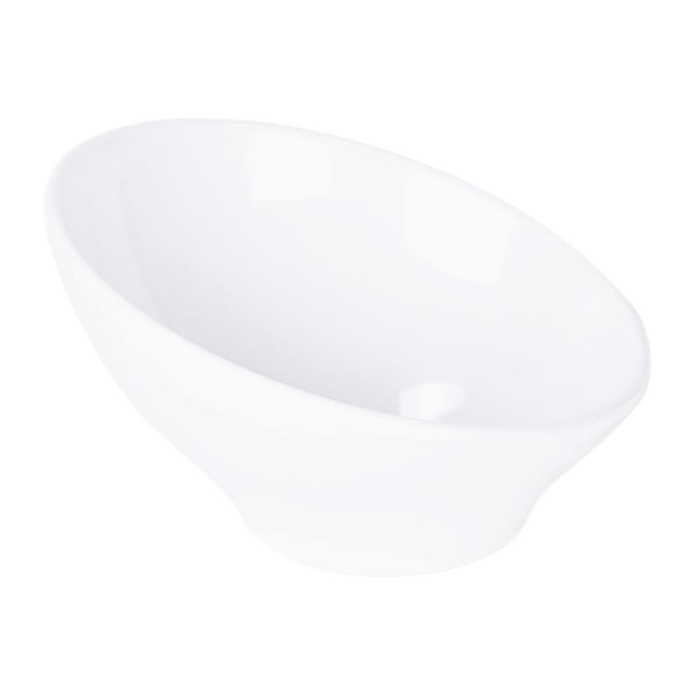Elite Global Solutions M75-NW 18-oz Luna Bowl - Melamine, White