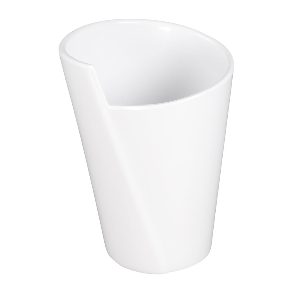 Elite Global Solutions MW32-W 32-oz Round Serving Crock - Melamine, White