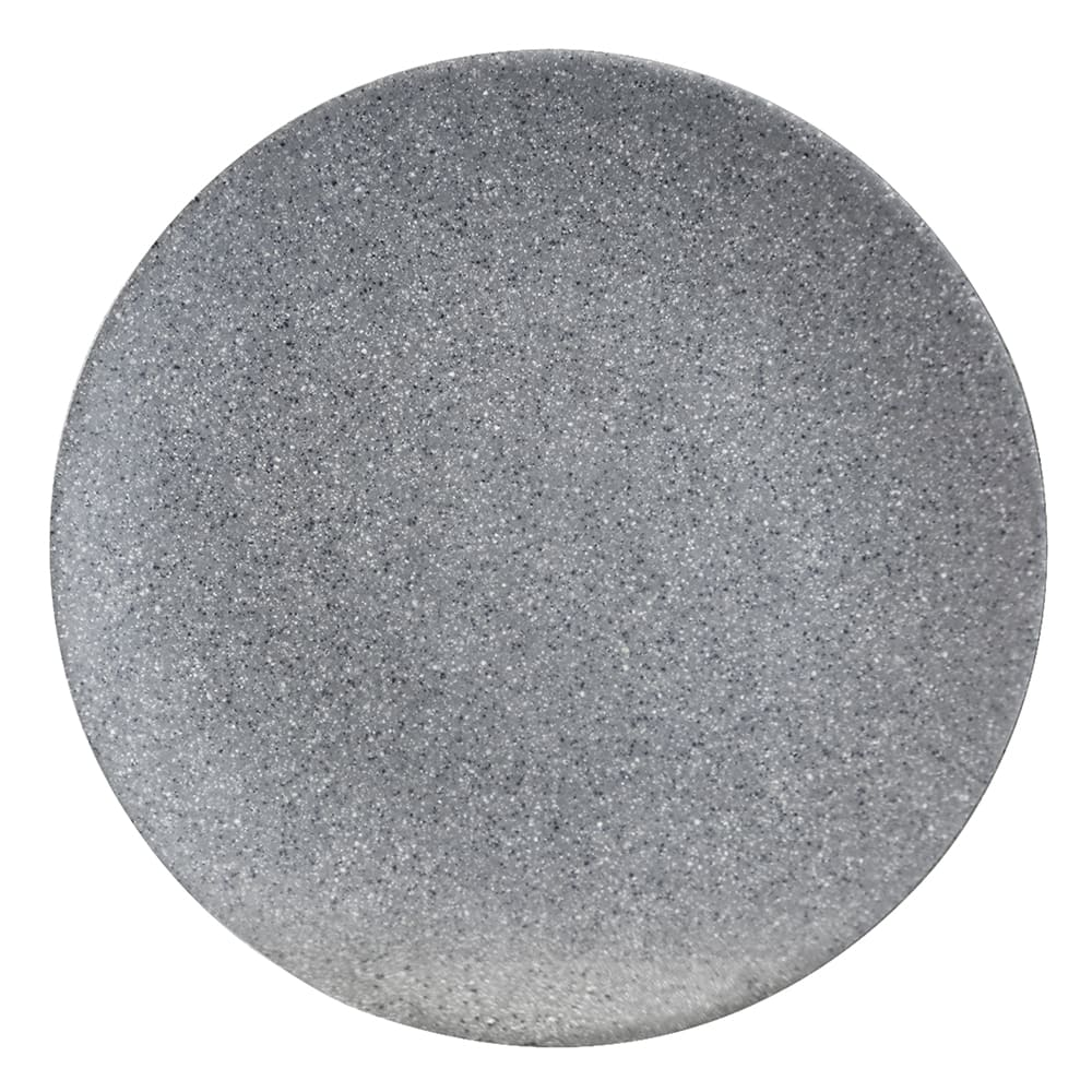 "Elite Global Solutions RT10R 10"" Round Tenaya Plate - Melamine, Granite Stone"