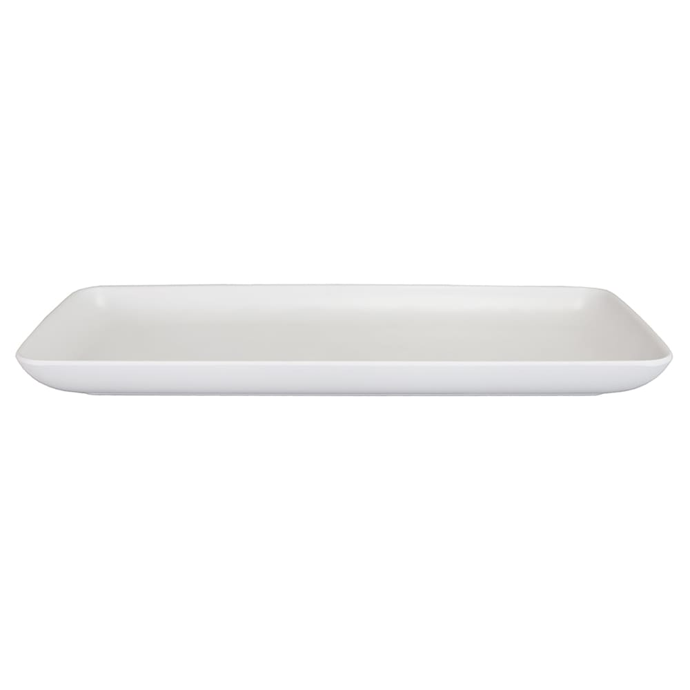 "Elite Global Solutions RT146RC Rectangular Tenaya Plate - 14.5"" x 6.5"", Melamine, Off-White"