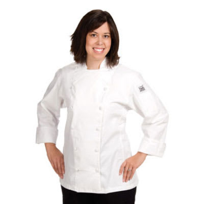 Chef Revival LJ025-XS Ladies Poly Cotton Cuisinier Chef Jacket, X-Small