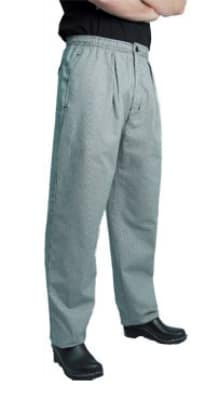Chef Revival P018HT-L Cotton Executive Chef Pants, Large, Hounds Tooth