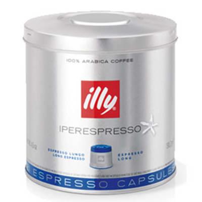 Illy 7466 iperEspresso Lungo Medium Roast Coffee Capsules - 21-capsules