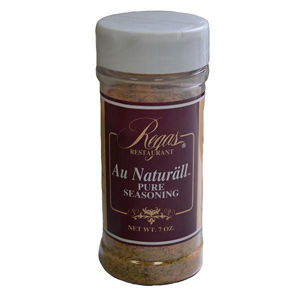 Regas Seasonings RS 7-oz Regas Restaurant Au Naturall Seasoning