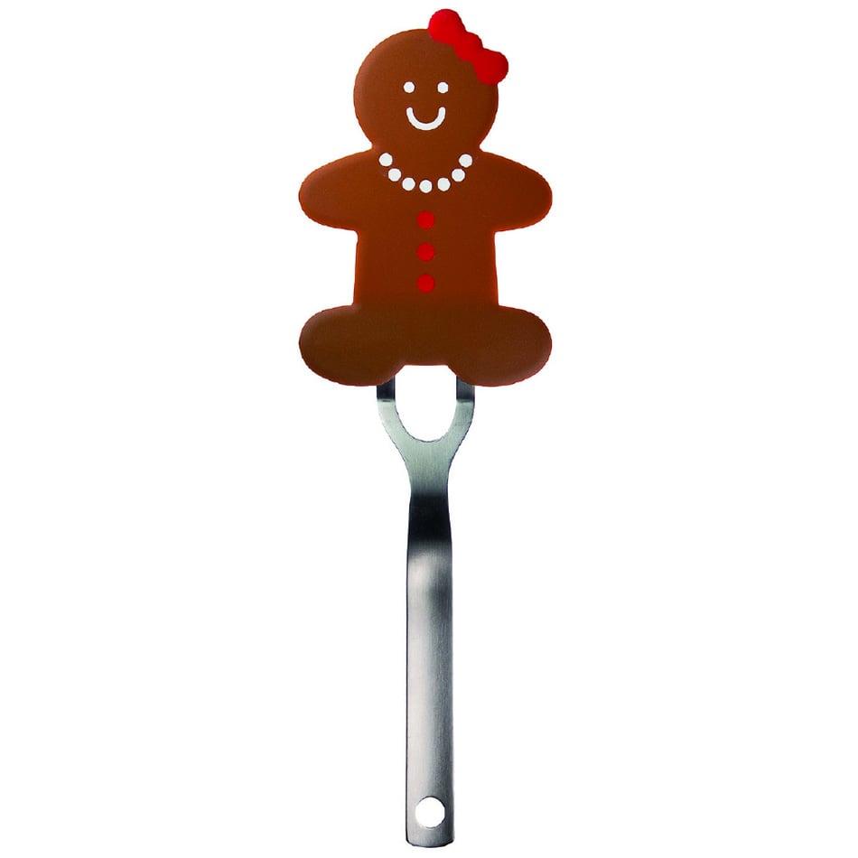 Tovolo 80-7655 Gingerbread Girl Nylon Flex Turner