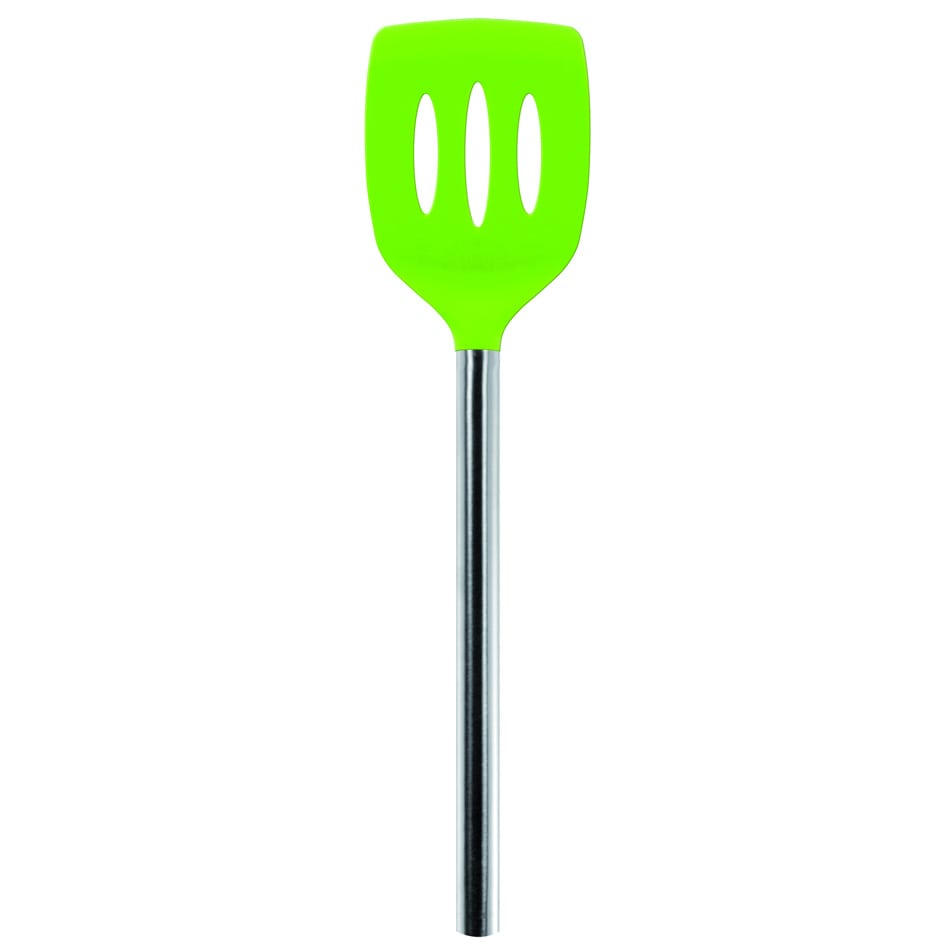 Tovolo 81-9745 Silicone Slotted Turner - Spring Green