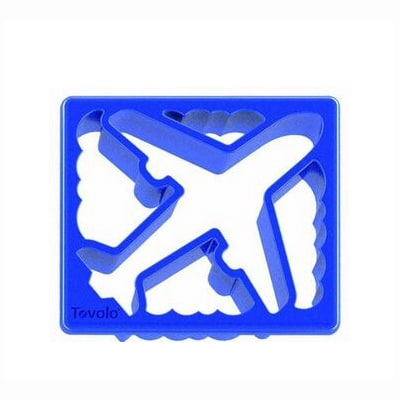 Tovolo 80-9376 Sandwich Shaper - Plane & Clouds