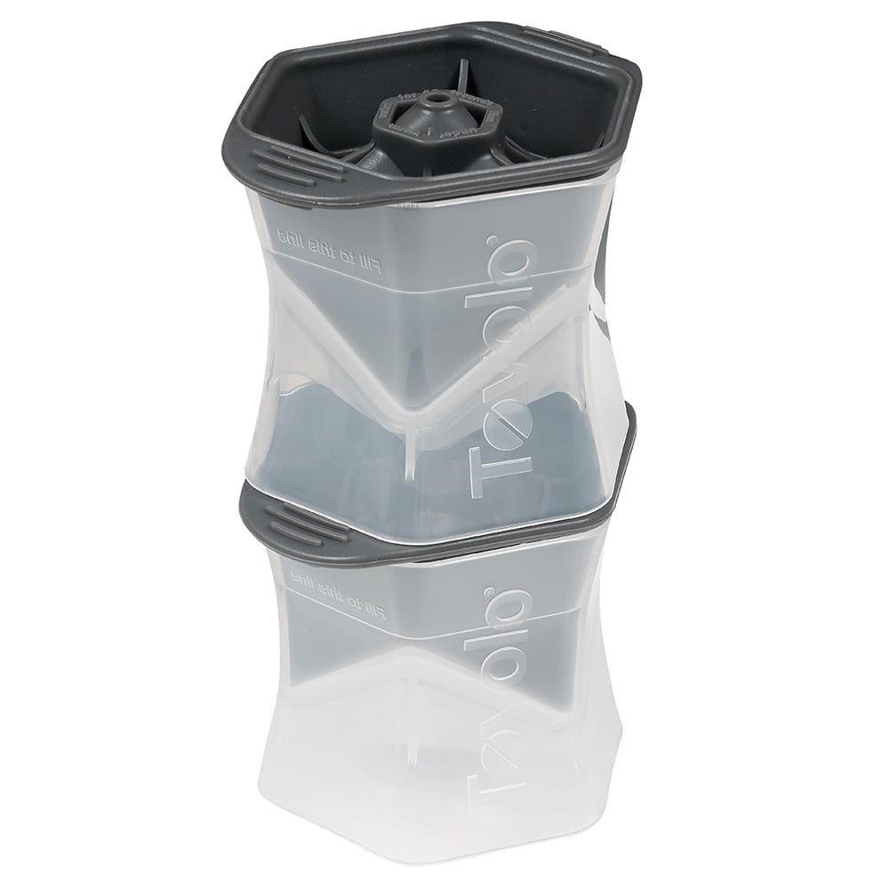 Tovolo 81-2586 Colossal Cube Ice Molds - Set of 2