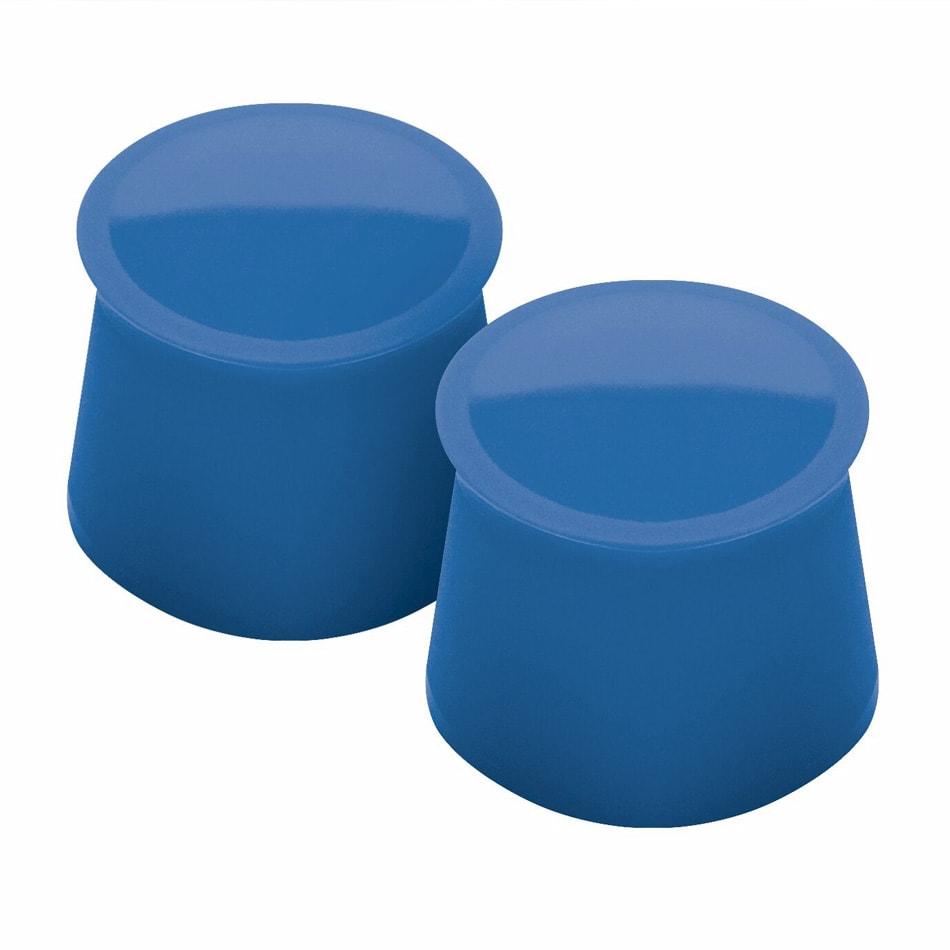 Tovolo 81-7895 Silicone Wine Cap - Capri Blue