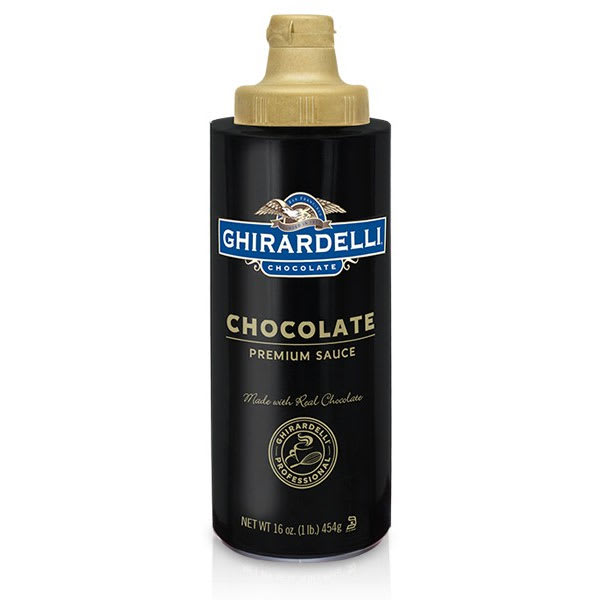 Ghirardelli 61282 16 oz Chocolate Flavored Sauce, Squeeze Bottle