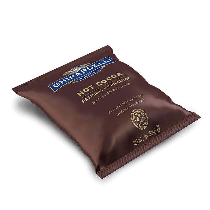 Ghirardelli 62012 2-lb Double Chocolate Premium Hot Cocoa