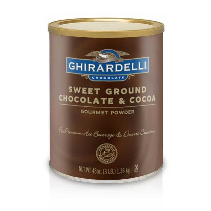 Ghirardelli 62023 3-lb Sweet Ground Chocolate & Cocoa