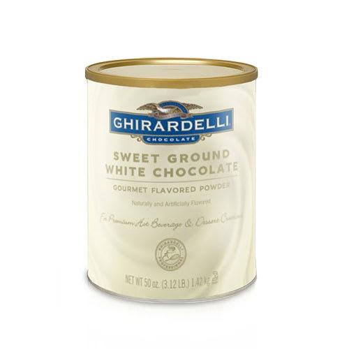 Ghirardelli 62038 3.12-lb Sweet Ground White Chocolate