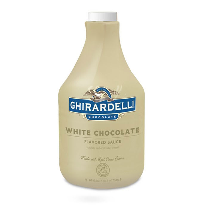 Ghirardelli 62051 89.4-oz White Chocolate Flavored Sauce