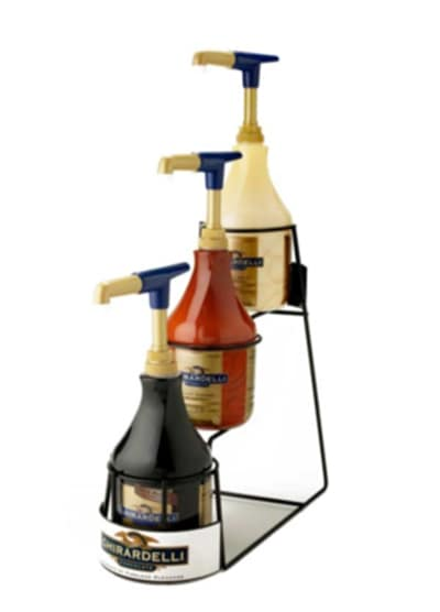 Ghirardelli 99184 3-Tier Sauce Rack for 64-oz Bottles