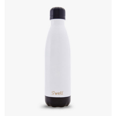 S'well CBTU-17-A15 17-oz Insulated Water Bottle - BPA Free, 18/8 Stainless, Tuxedo