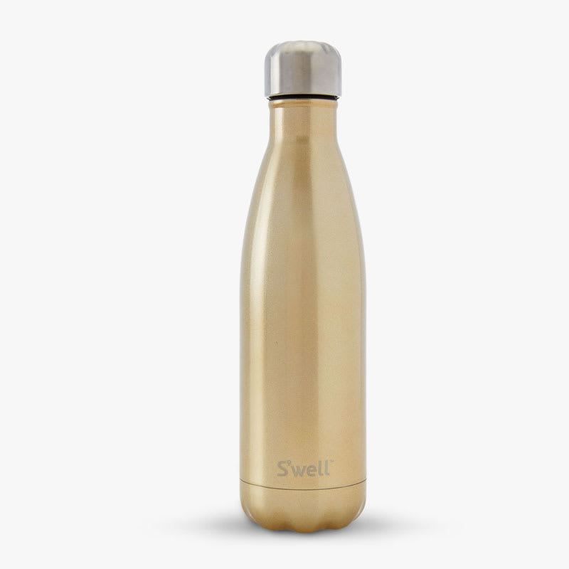S'well GWB-CHMP19 17-oz Insulated Water Bottle - BPA Free, 18/8 Stainless, Sparkling Champagne