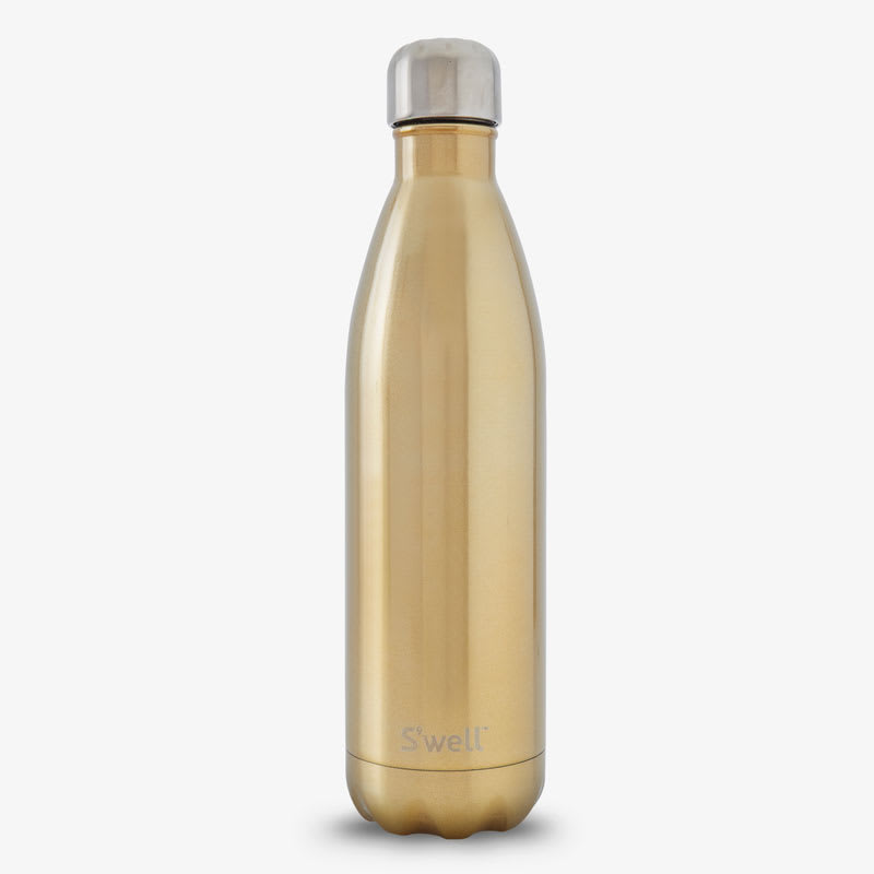 S'well LWB-CHMP19 25-oz Insulated Water Bottle - BPA Free, 18/8 Stainless, Sparkling Champagne