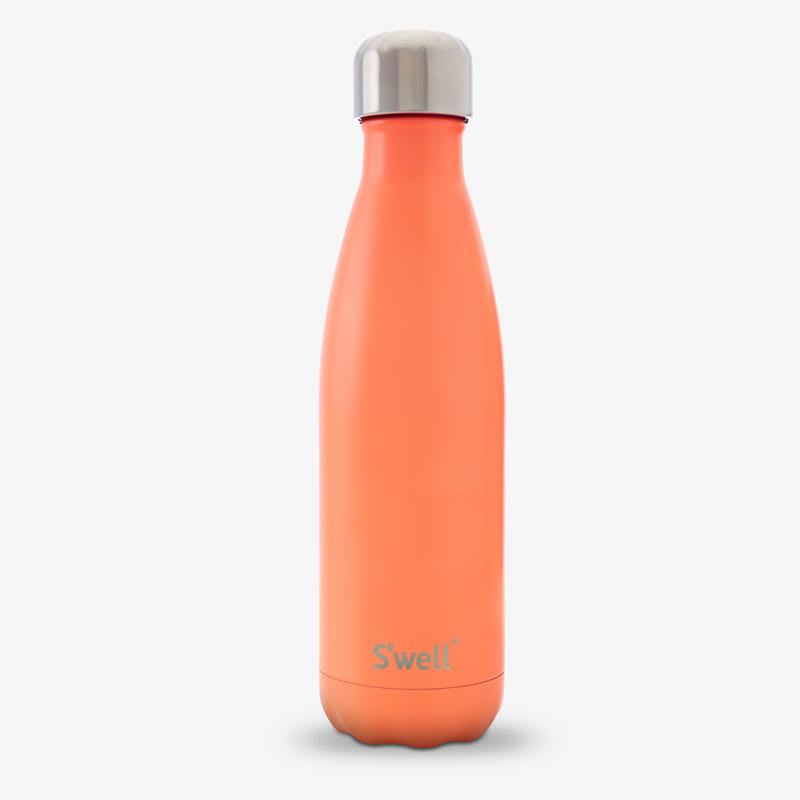 S'well ST-BRD 17-oz Insulated Water Bottle - BPA Free, 18/8 Stainless, Birds Of Paradise