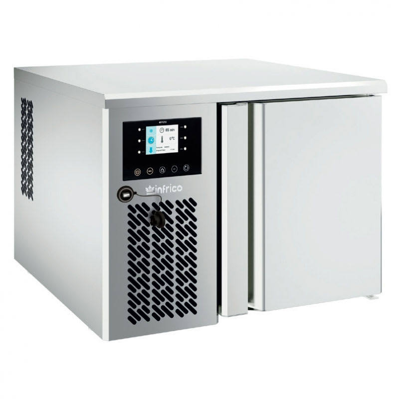 "Infrico IBC-ABT31S 28.38"" Countertop Blast Chiller - (3) Pan Capacity, 115v"