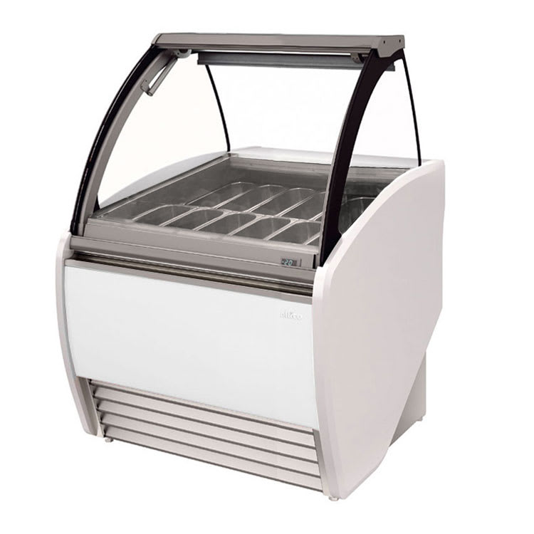 "Infrico IDC-VAR12H 52.38"" Stand Alone Ice Cream Freezer w/ 14-Pan Capacity, 230v/1ph"