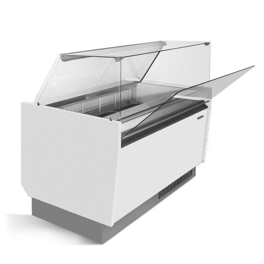 "Infrico IDC-VBZ15H 61.5"" Stand Alone Ice Cream Freezer w/ 10-Tub Capacity, 115v"