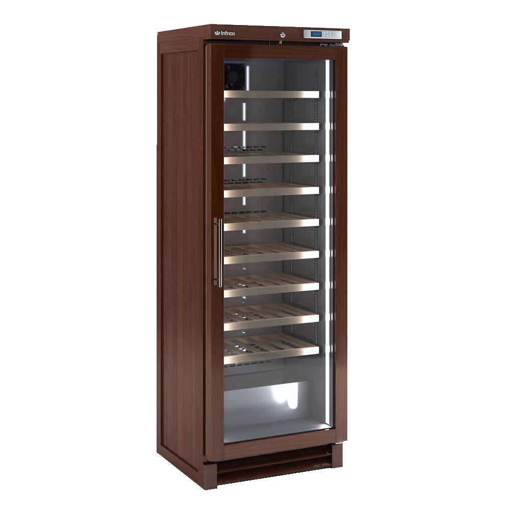 """Infrico IMD-EVV100 25.87"""" One Section Wine Cooler w/ (1) Zone, 100 Bottle Capacity, 115v"""