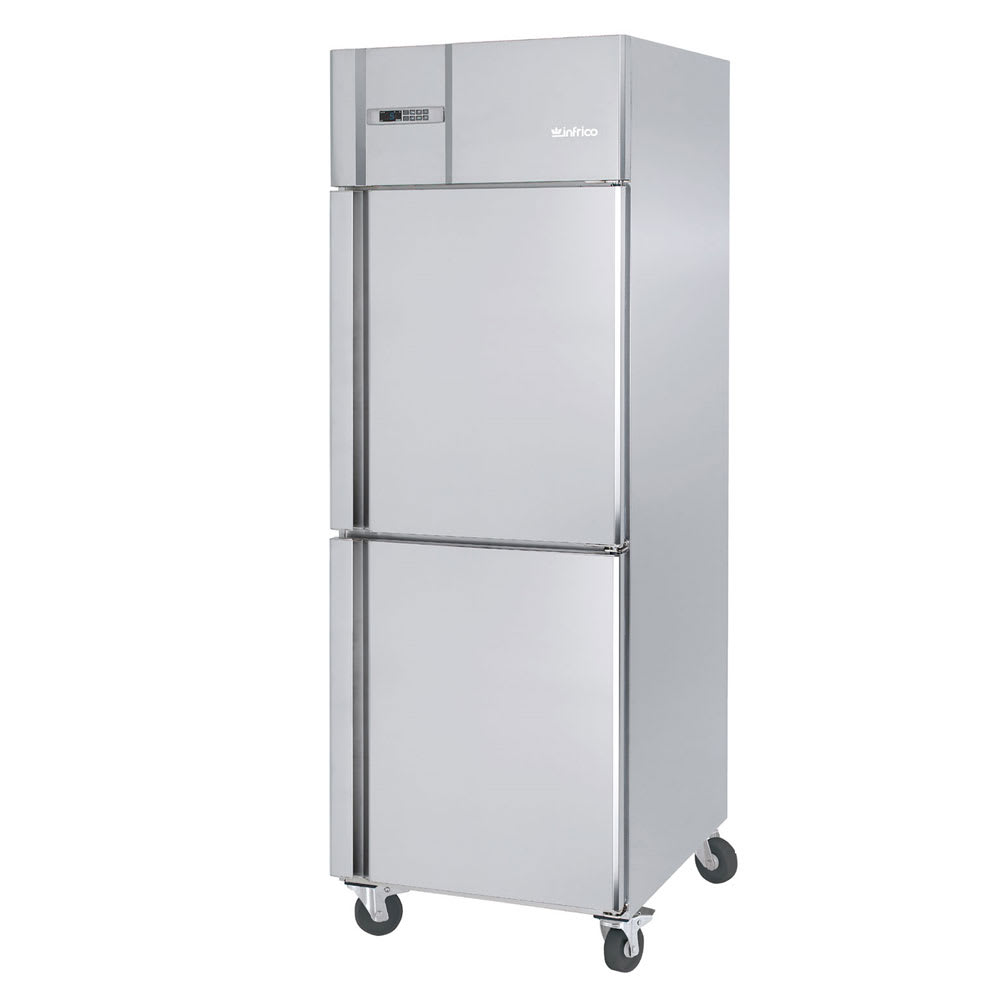 "Infrico IRR-AGB23-2 27"" Single Section Reach-In Refrigerator, (2) Solid Doors, 115v"