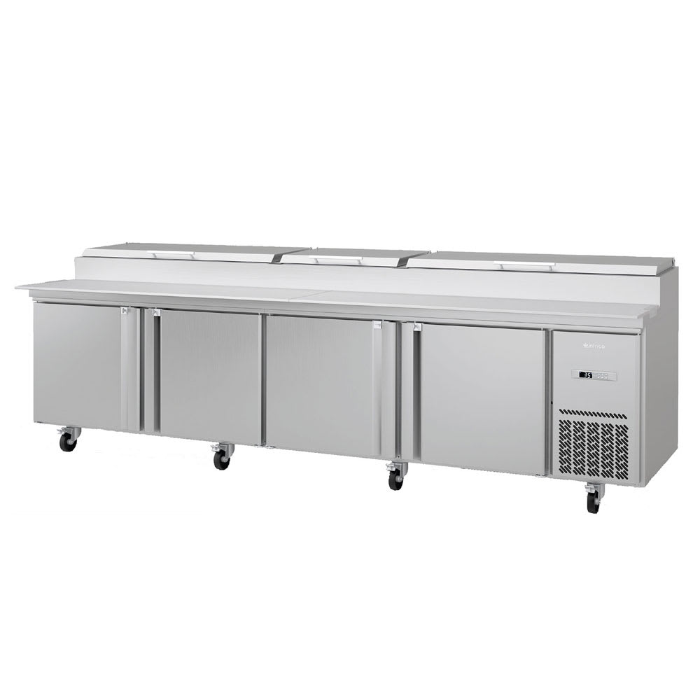 "Infrico IRT-MR119EN 119.25"" Pizza Prep Table w/ Refrigerated Base, 115v"