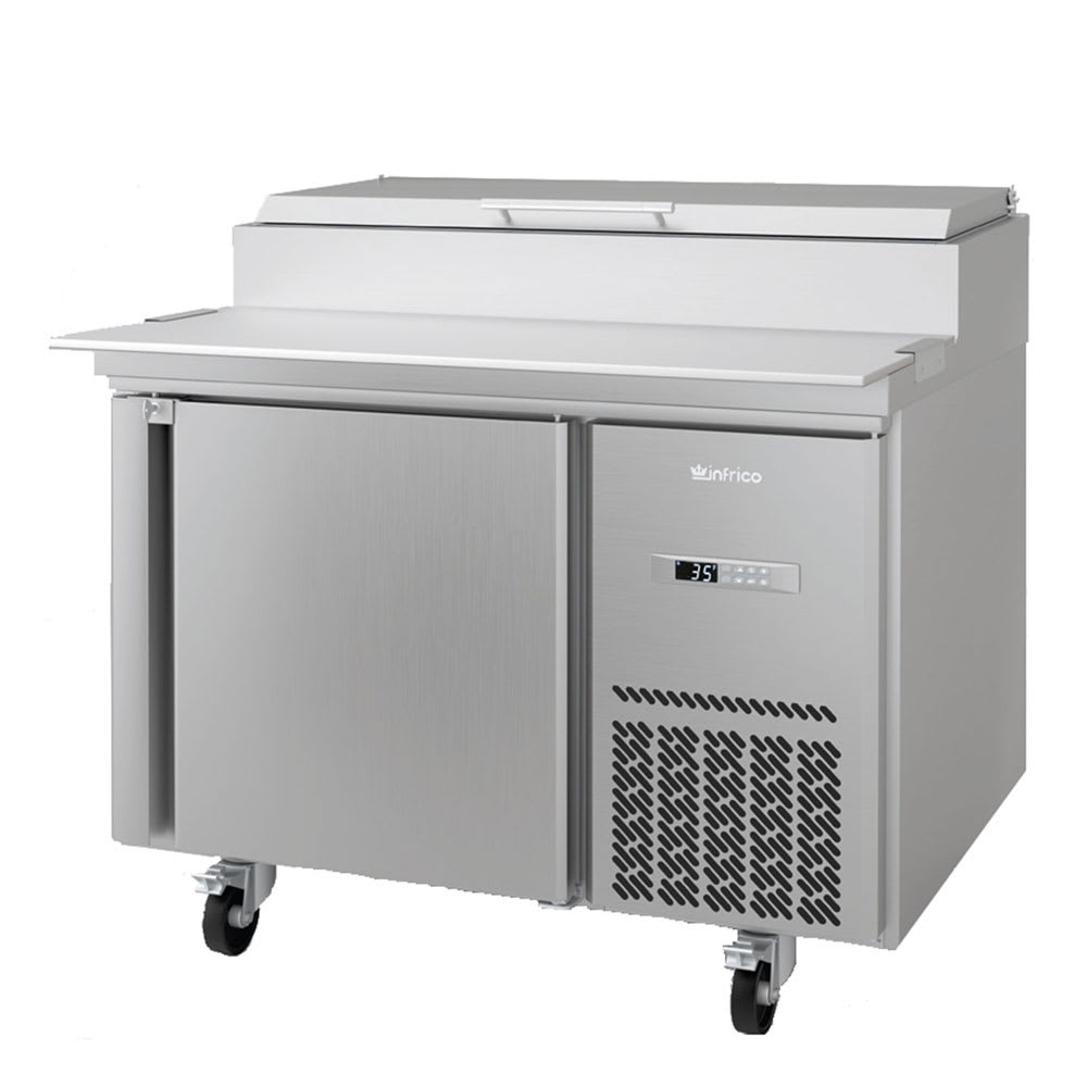 "Infrico IRT-MR41EN 41.38"" Pizza Prep Table w/ Refrigerated Base, 115v"