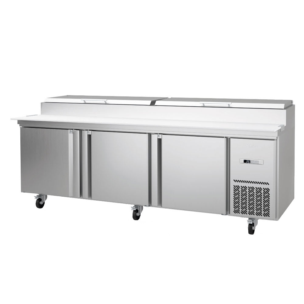 "Infrico IRT-MR93EN 93.25"" Pizza Prep Table w/ Refrigerated Base, 115v"