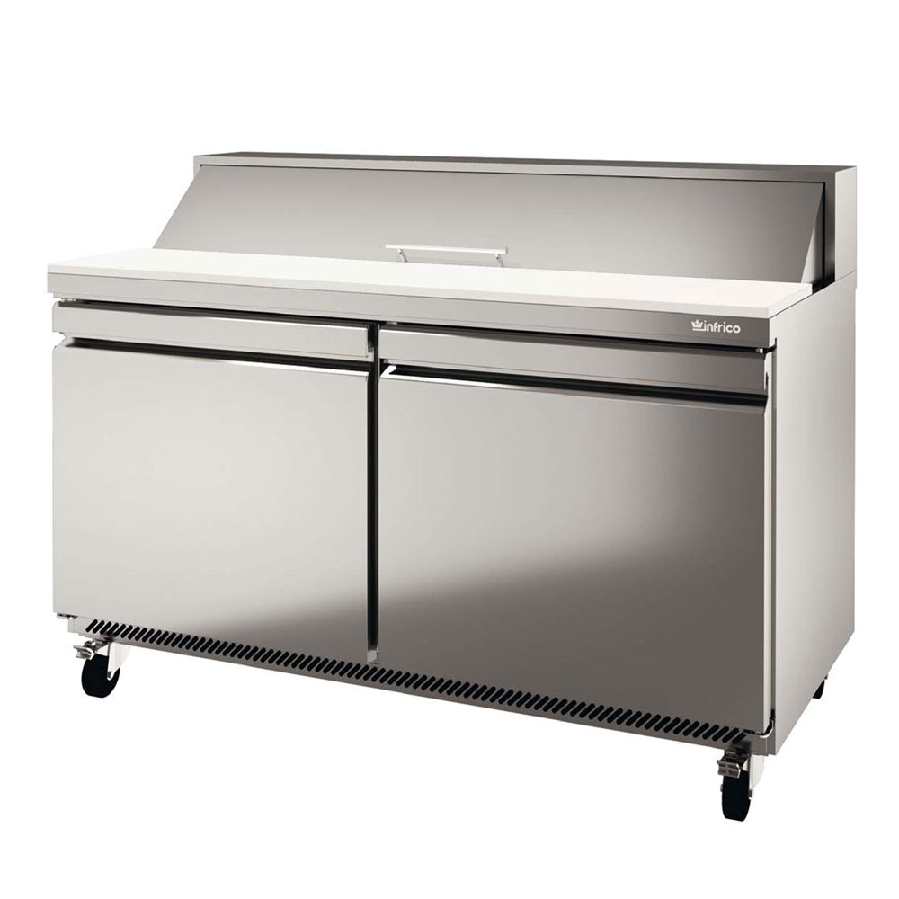 "Infrico IRT-UC48P 48.13"" Sandwich/Salad Prep Table w/ Refrigerated Base, 115v"