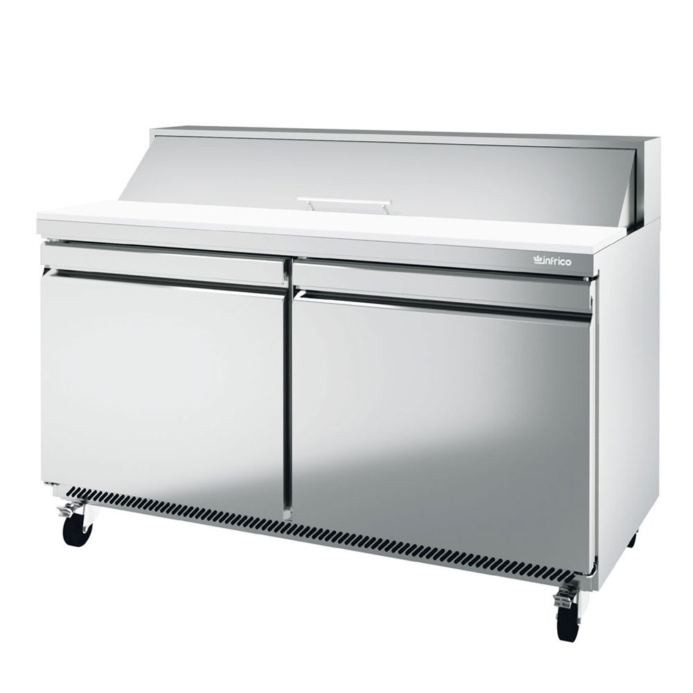 "Infrico IRT-UC60P 60.38"" Sandwich/Salad Prep Table w/ Refrigerated Base, 115v"