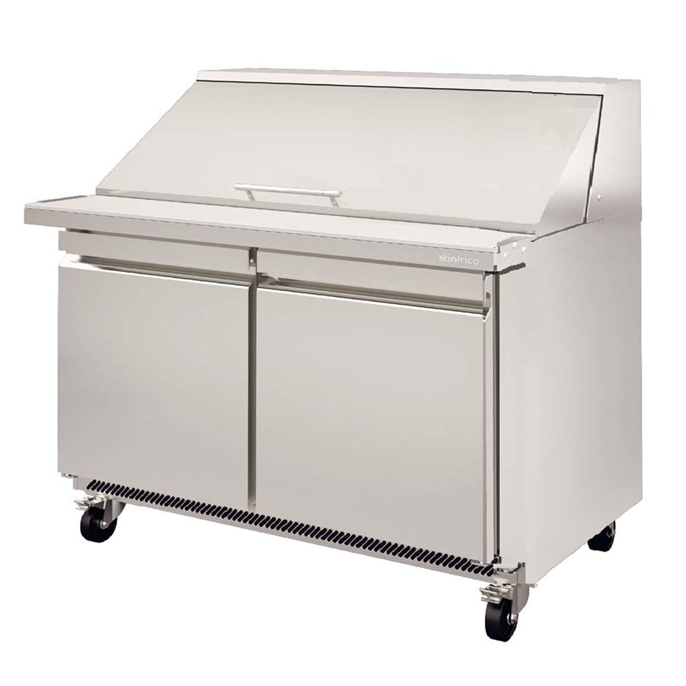 "Infrico IRT-UC60PMT 60.38"" Sandwich/Salad Prep Table w/ Refrigerated Base, 115v"