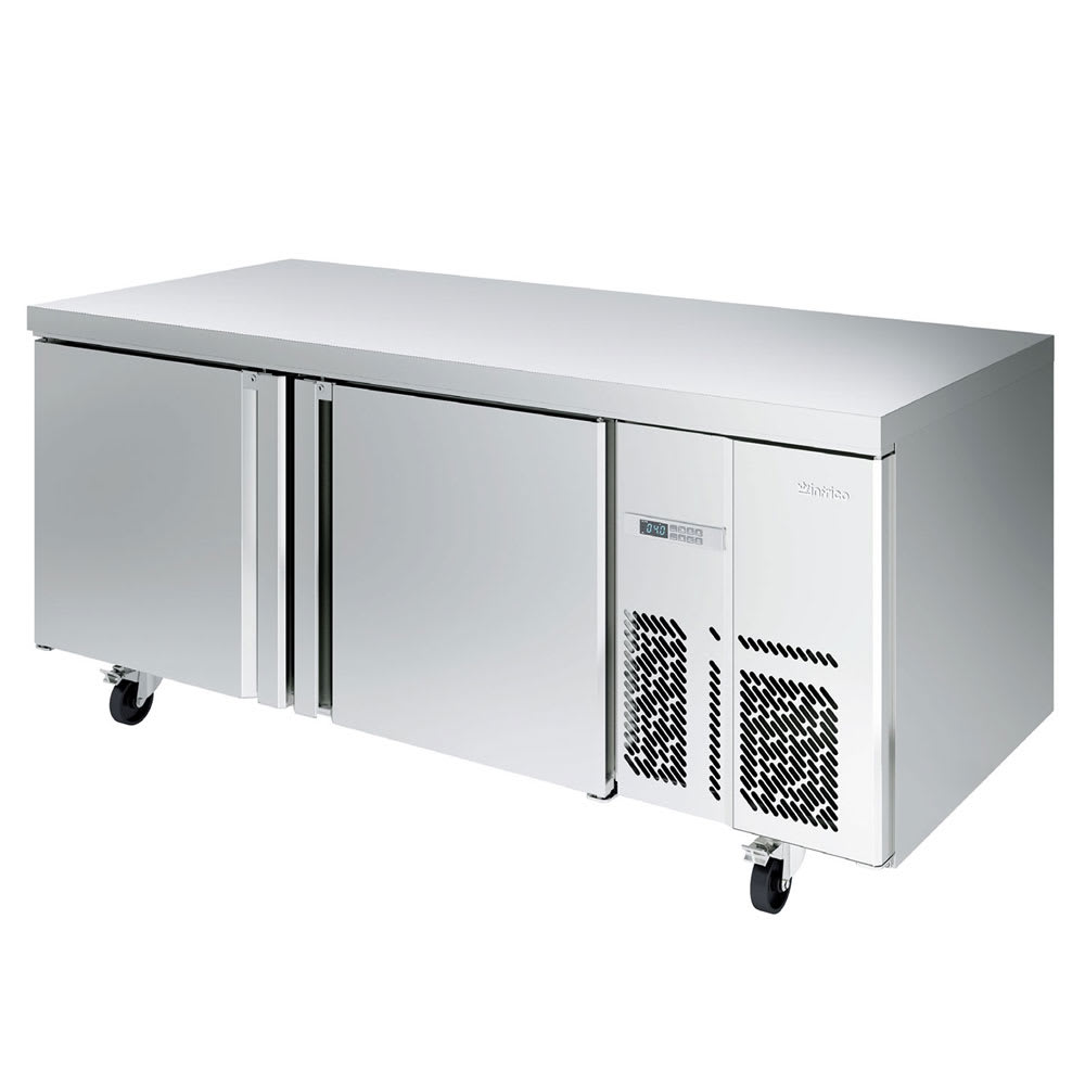 Infrico IUC-MR67BT 22-cu ft Work Top Freezer w/ (2) Sections & (2) Doors, 115v