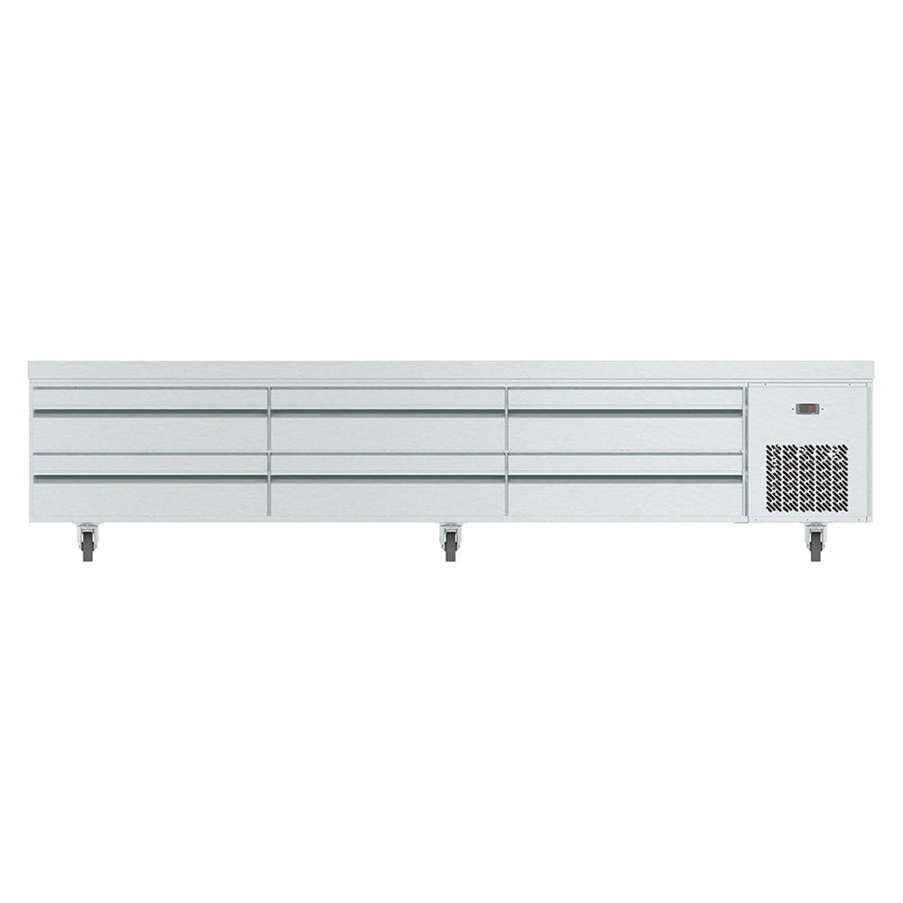 "Infrico IUC-MSG110 110.63"" Chef Base w/ (6) Drawers - 115v"