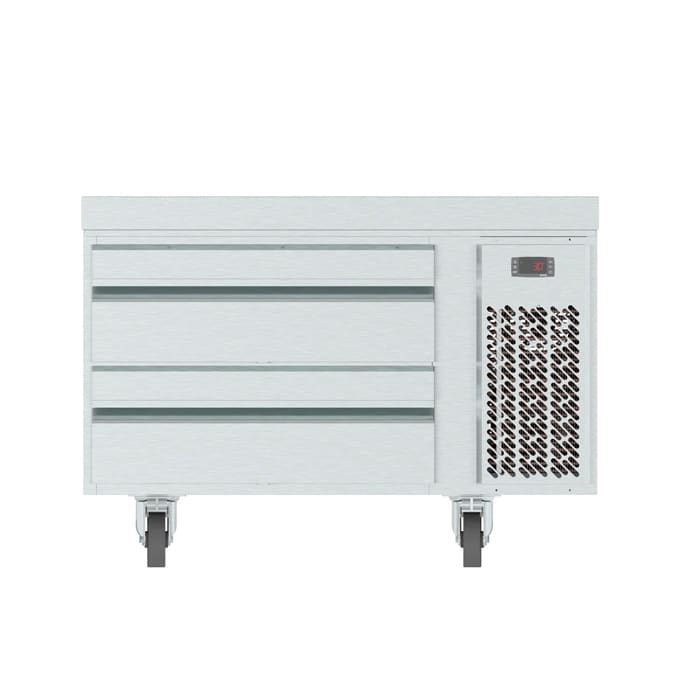 "Infrico IUC-MSG36 36.63"" Chef Base w/ (2) Drawers - 115v"