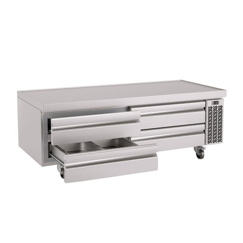 "Infrico IUC-MSG72 72.63"" Chef Base w/ (4) Drawers - 115v"