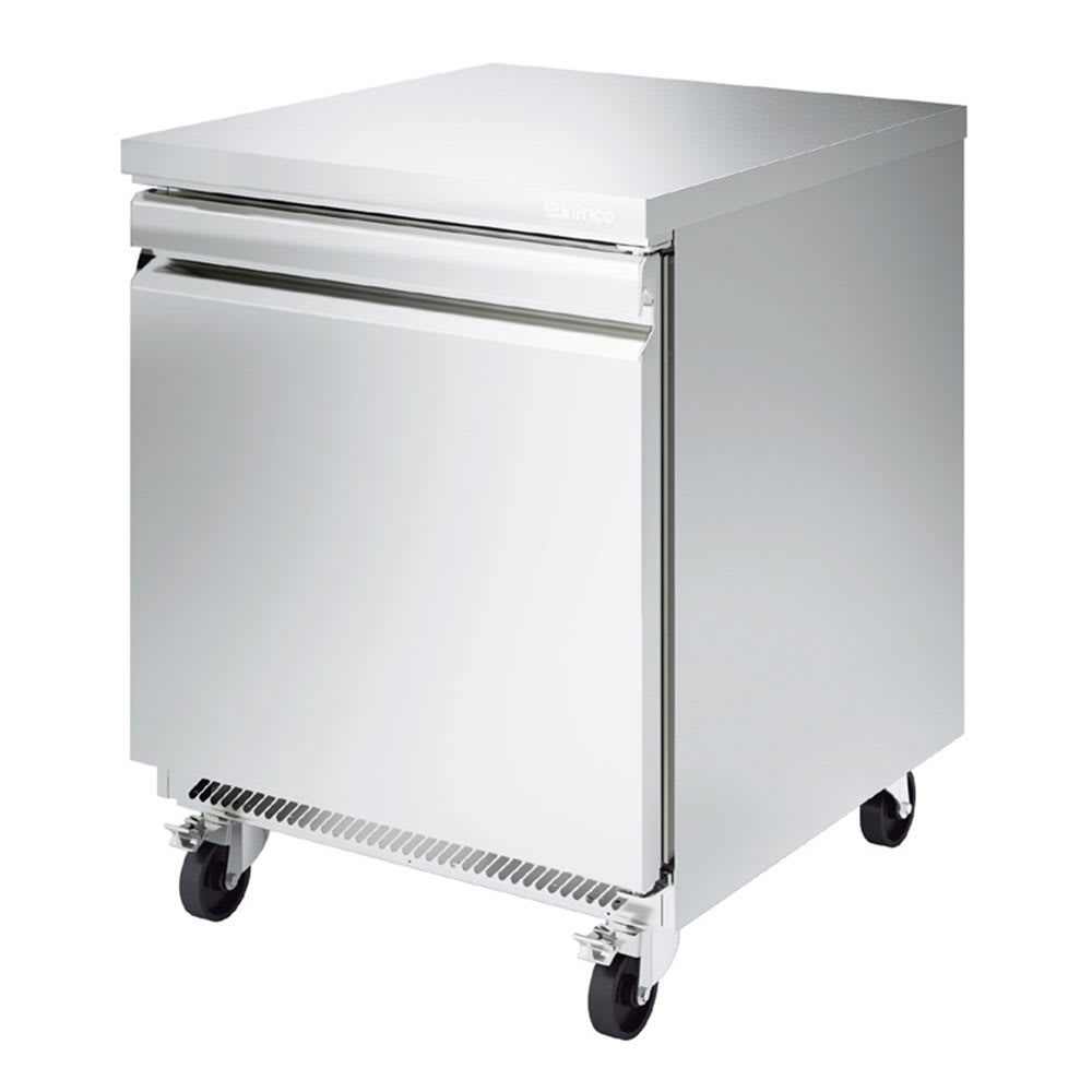 Infrico IUC-UC27R 8-cu ft Undercounter Refrigerator w/ (1) Section & (1) Door, 115v